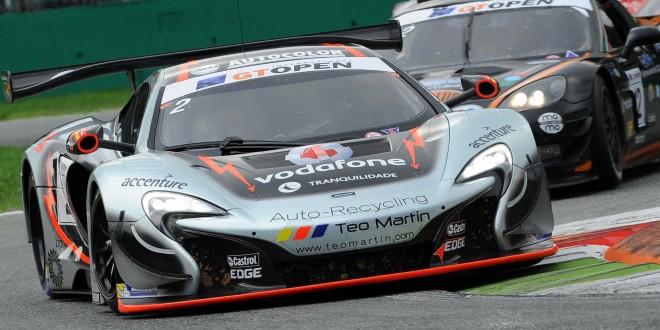2 Teo Martin M., Miguel Ramos , Álvaro Parente , McLaren 650S