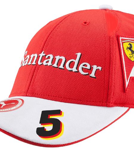 Šiltovka Scuderia Ferrari Sebastian Vettel Replica