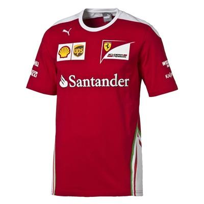 Tímove tričko Scuderia Ferrari 2016