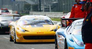 Janko Daniš s Ferrari Challenge Europe na Hockenheim