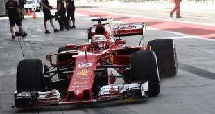 Testy v Bahrajne, Antonio Giovanazzi
