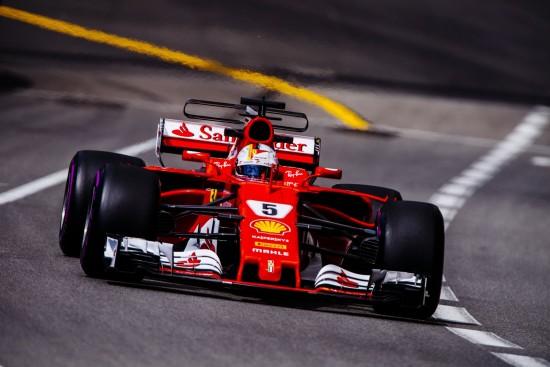 VC Monaka, Sebastian Vettel