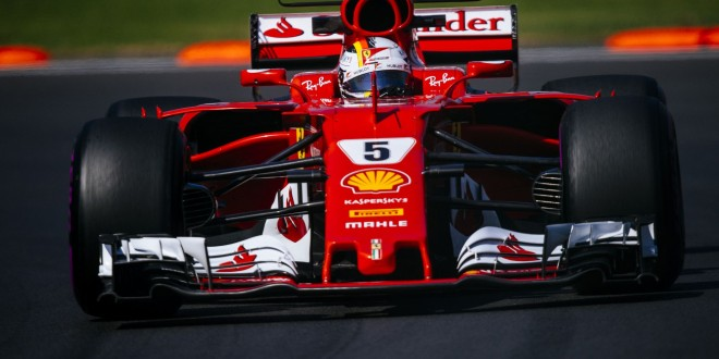 VC Mexika, Sebastian Vettel