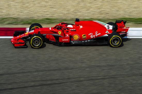 VC Číny 2018, Sebastian Vettel
