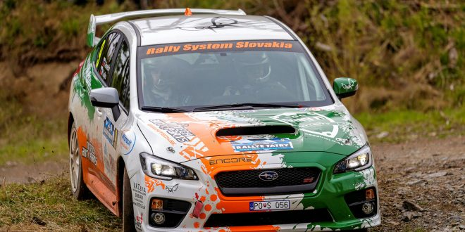 Rally System Slovakia – Konečný vykročil za titulom